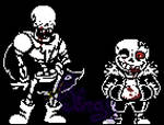 [Horrortale] Sans and Papyrus