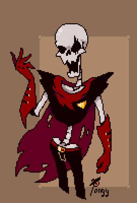 [Underfell] Papyrus