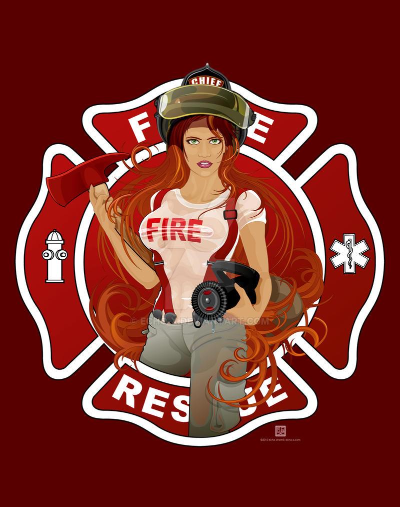 Fire Girl by echo-x