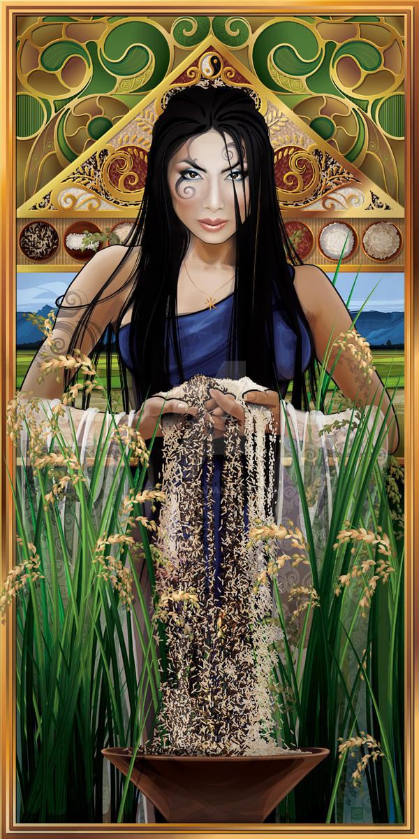 Goddess of Rice