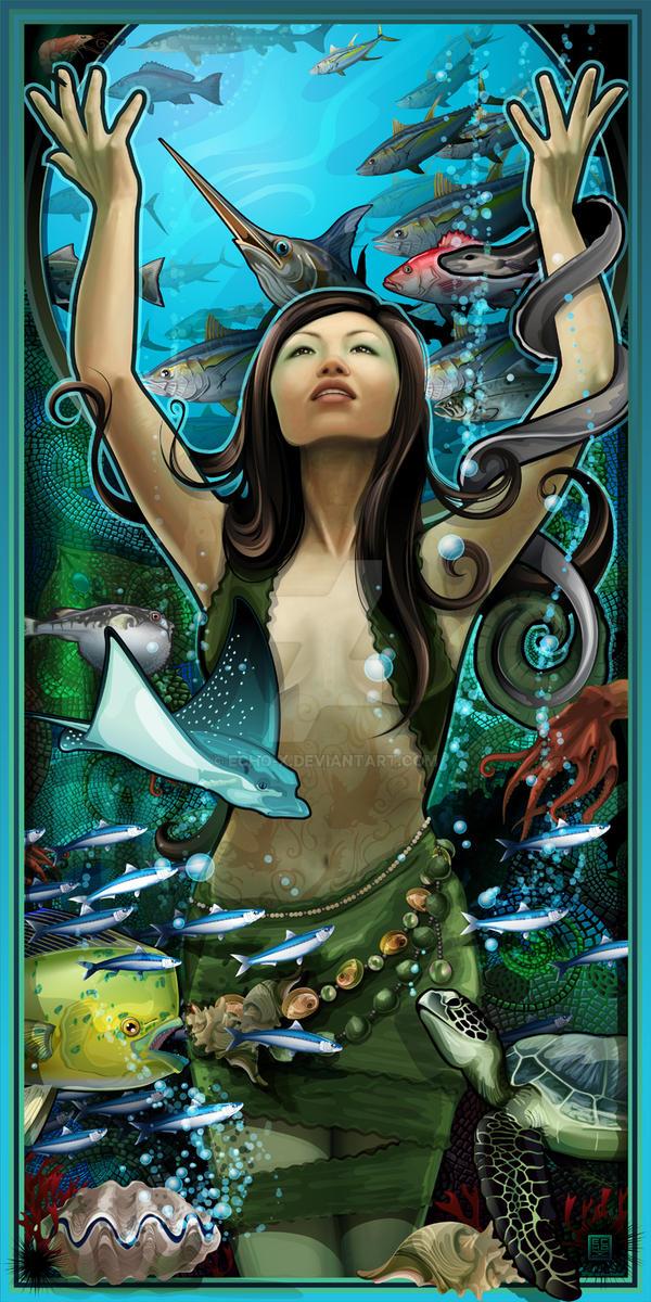 Goddess of Seafood