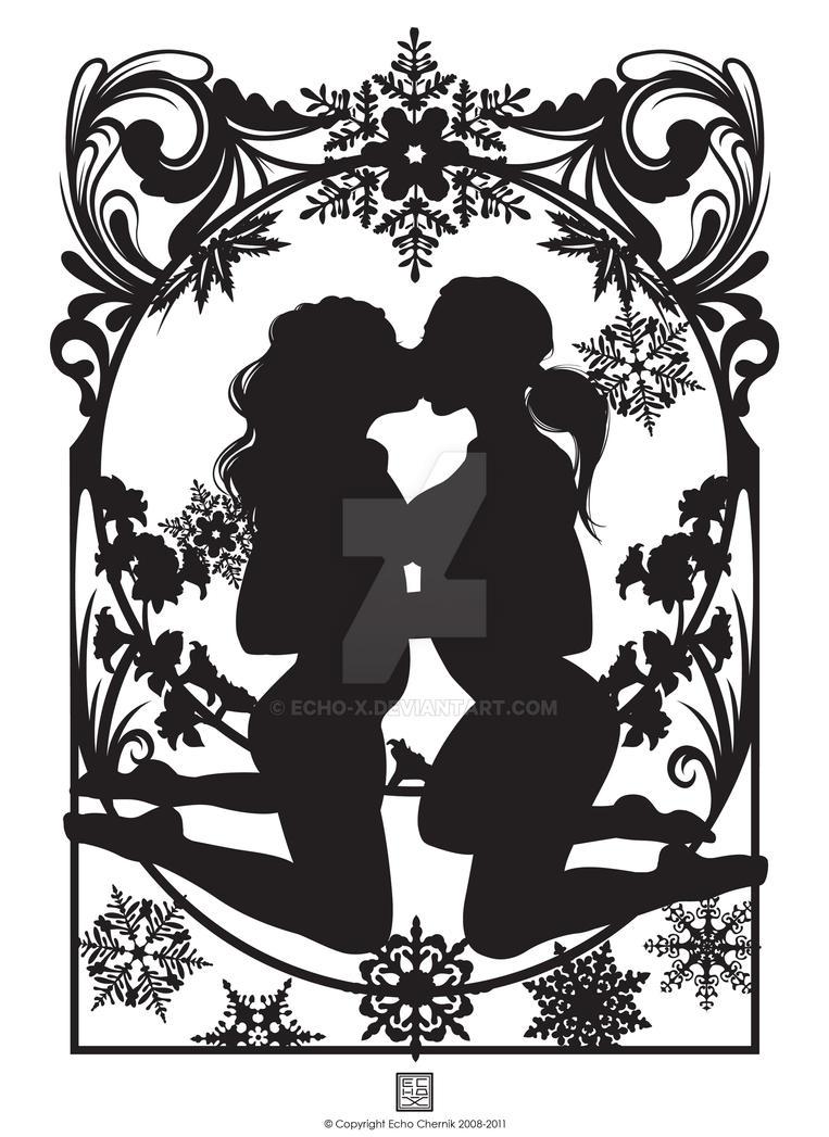 Kiss by echo-x