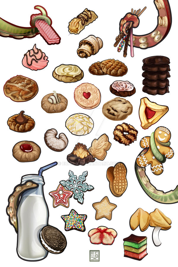 Cookies Vector by echo-x