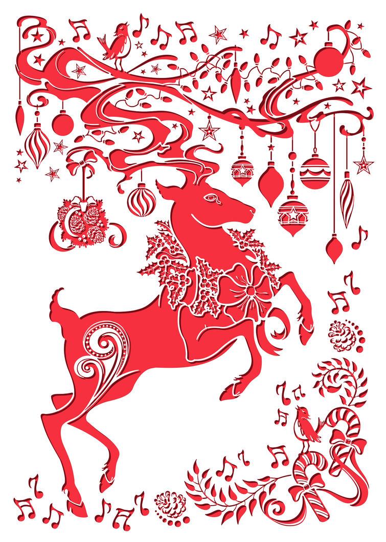 Publix 2014 Holiday Banner by Echo Chernik by echo-x