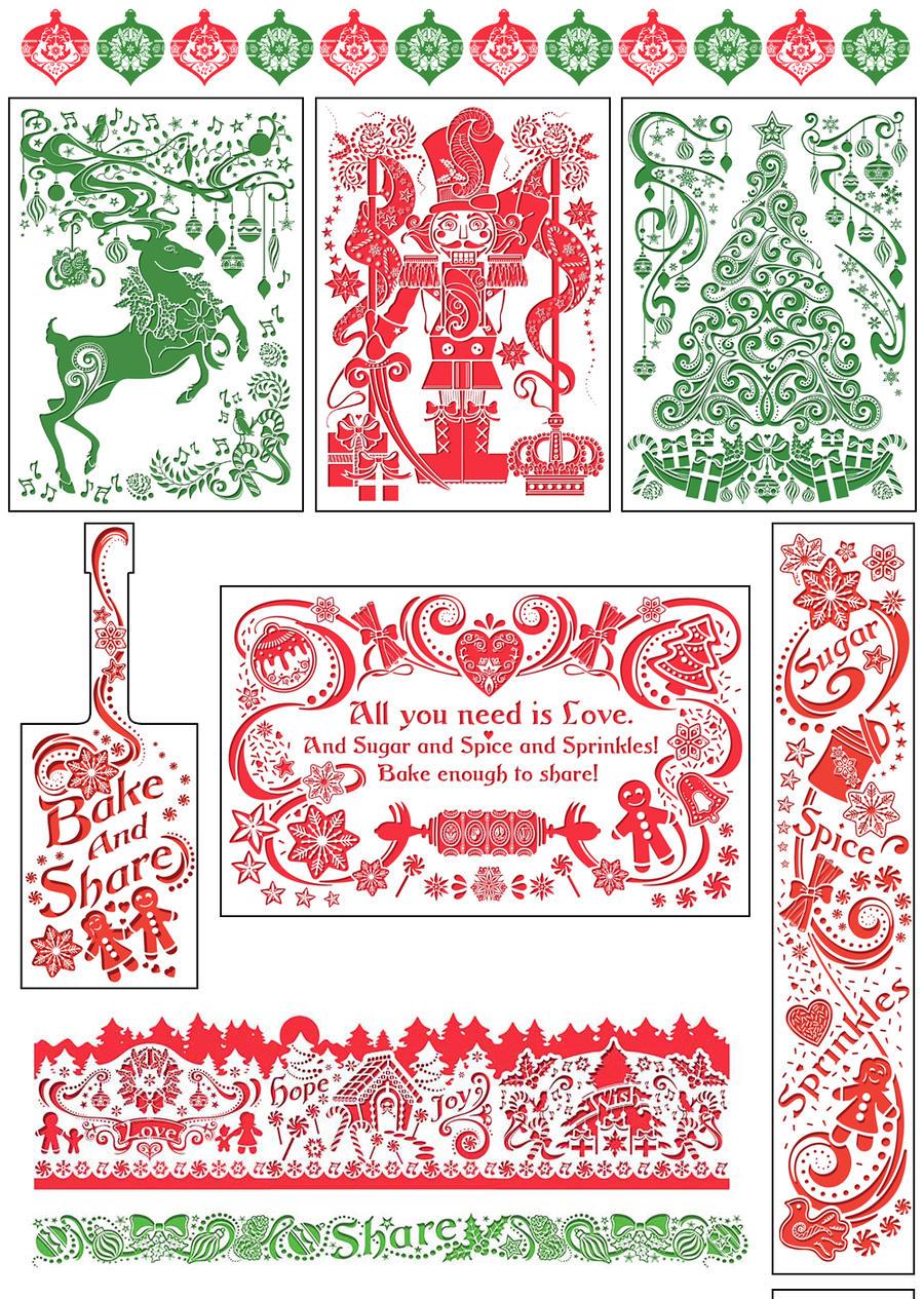 Publix 2014 Holiday Illustrations