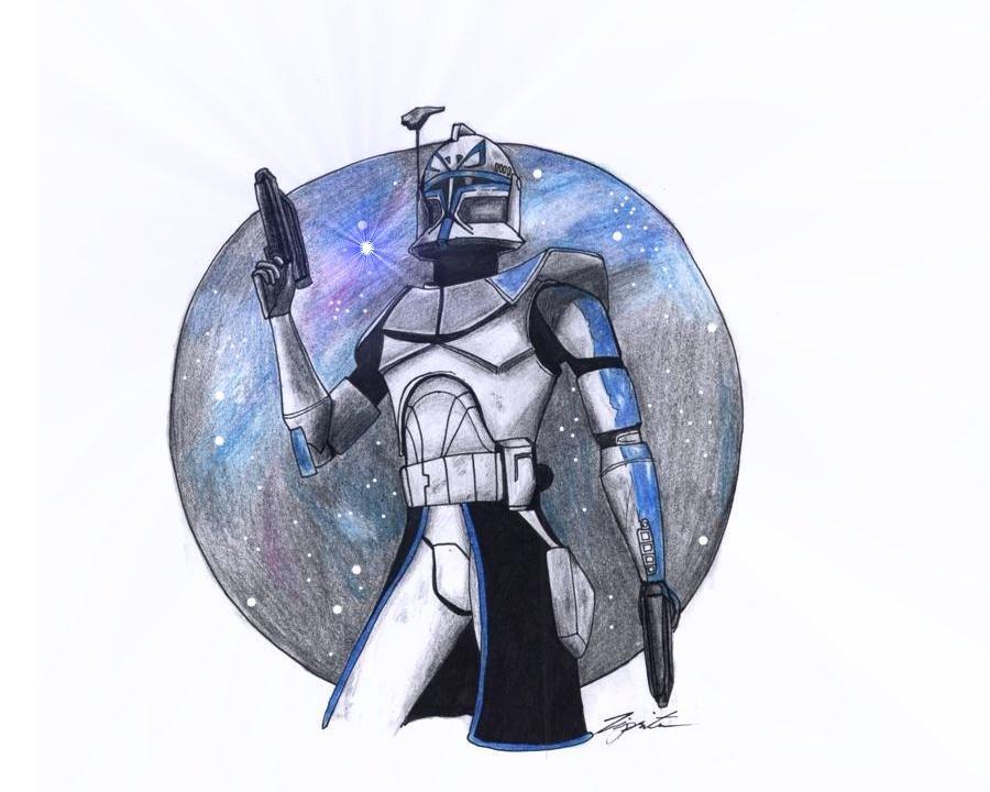 Captain Rex. by Tipsutora