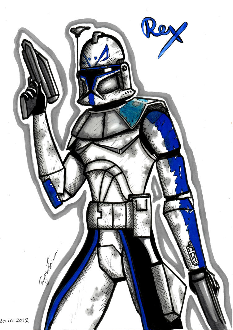 Captain Rex by Tipsutora