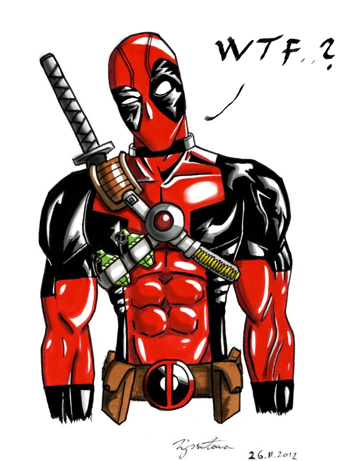 Deadpool - WTF? by Tipsutora