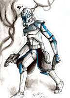 Captain Rex by Tipsutora