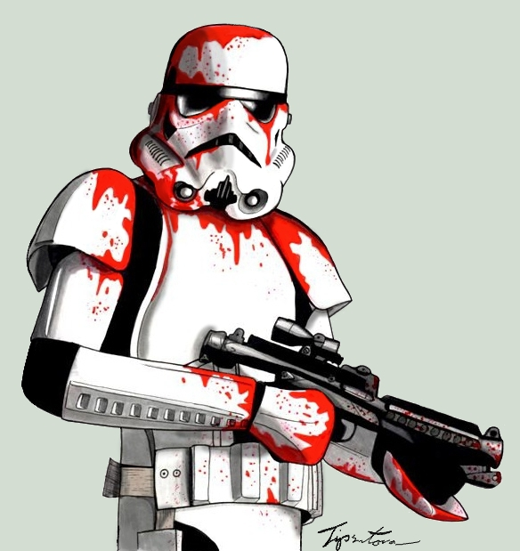 The blooder stormtrooper by Tipsutora