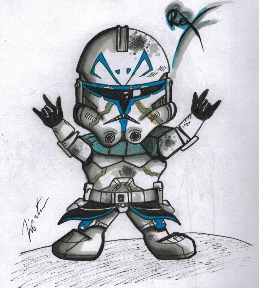 Captain Rex rocks! by Tipsutora