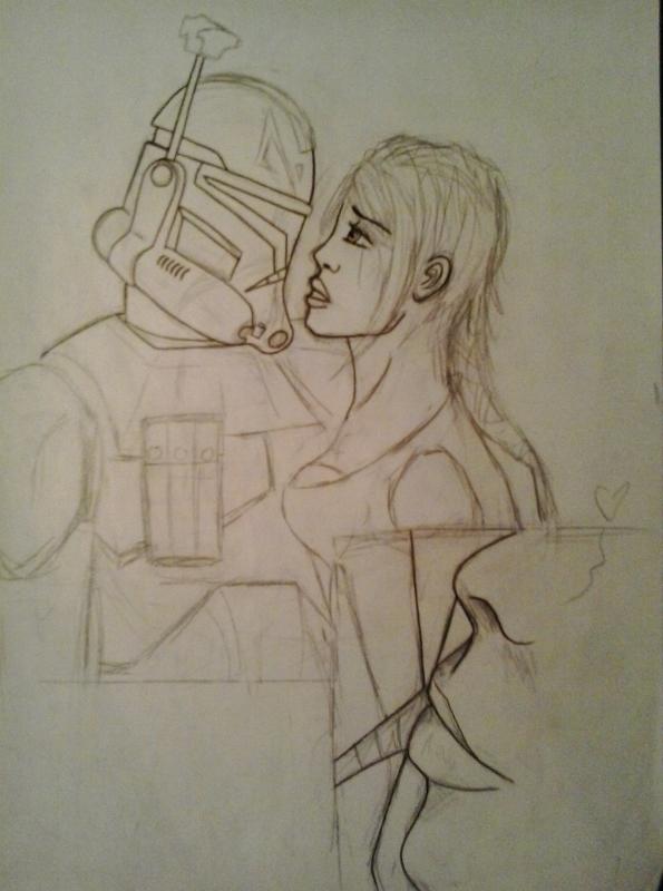SW - the kiss sketch by Tipsutora
