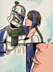 The sweet kiss