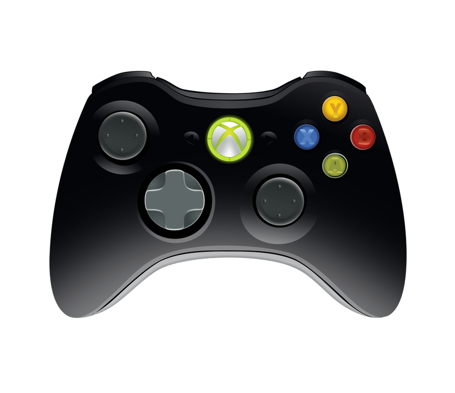 D Line Drawings Xbox : Xbox controller by twilighter on deviantart
