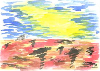 Desert by ergman