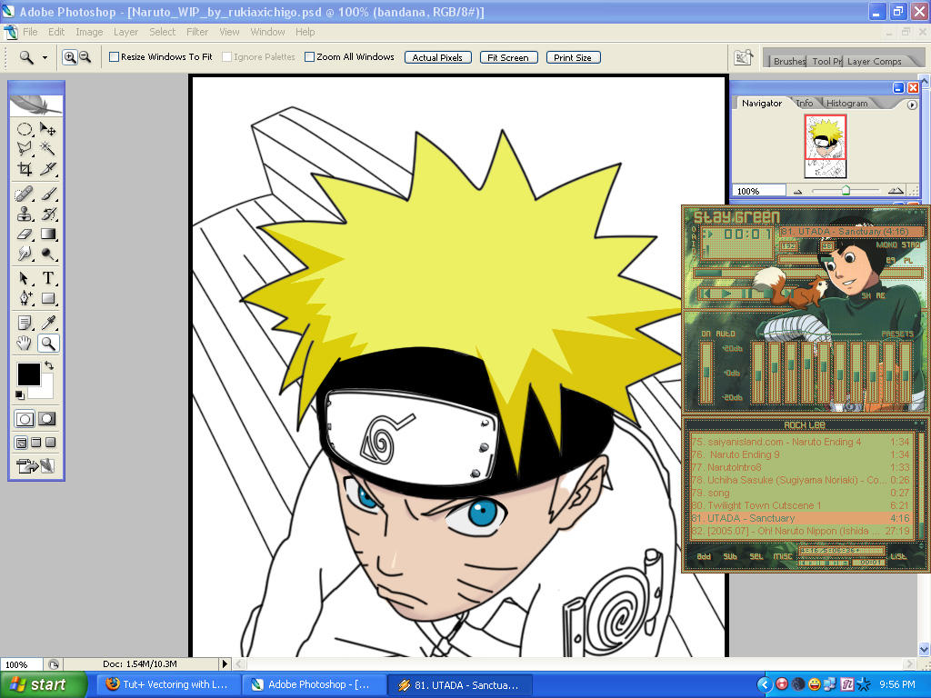 NARUTO WIP by RukiaXIchigo