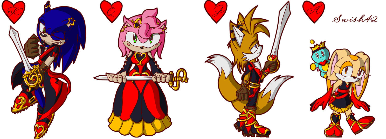 Heartless Sonic Characters Sonic Suit of Hearts b...