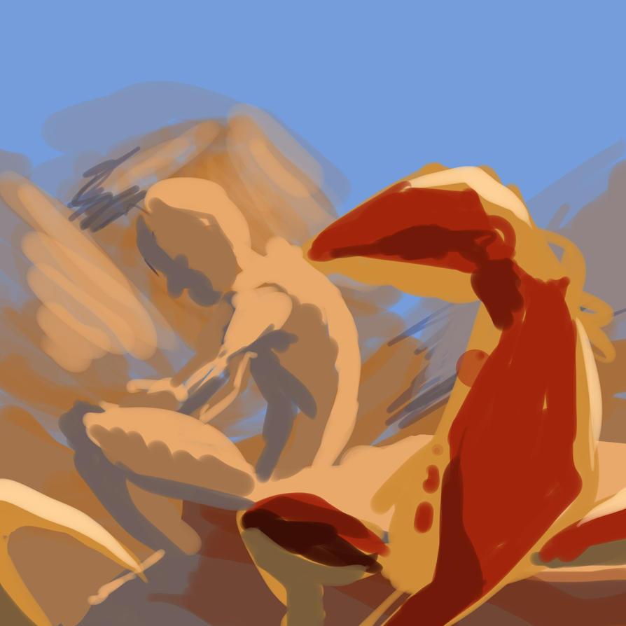 LizardGod1 by Crocofielius
