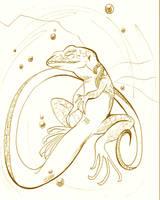 Amber Dreams by Crocofielius