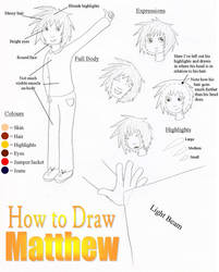 How to Draw Matthew by Rainbowgal