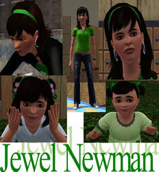 Sims 3: Jewel Newman by Rainbowgal