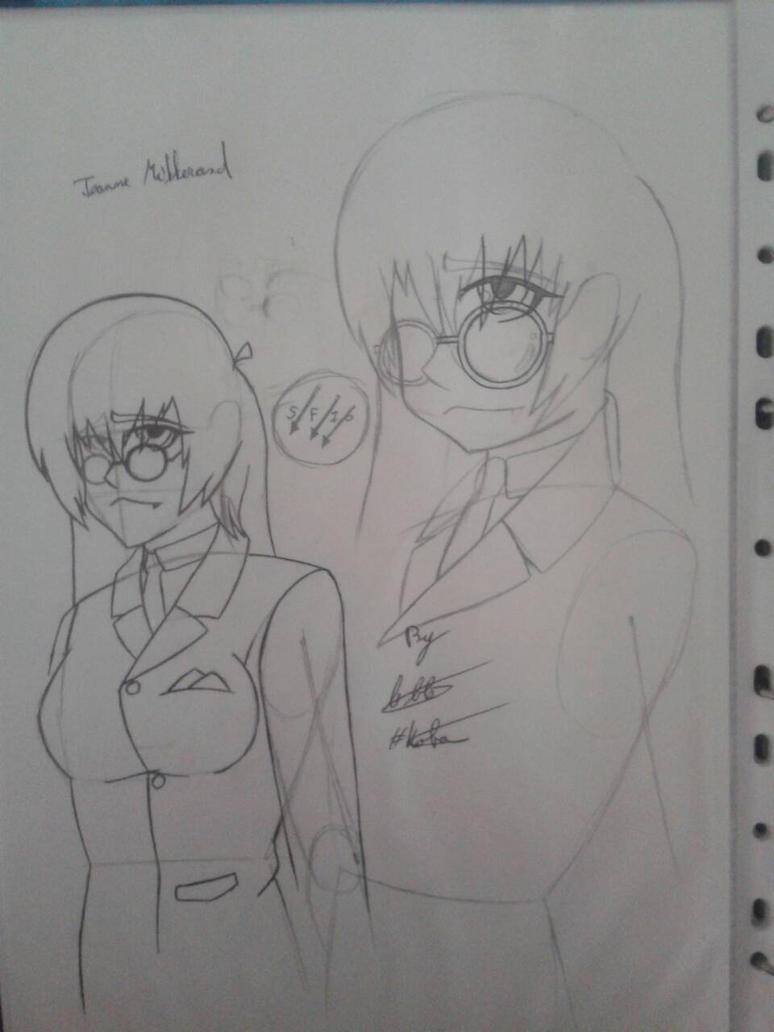 Jeanne Mitterand ( Sketch Fail xD ) by Kobayev