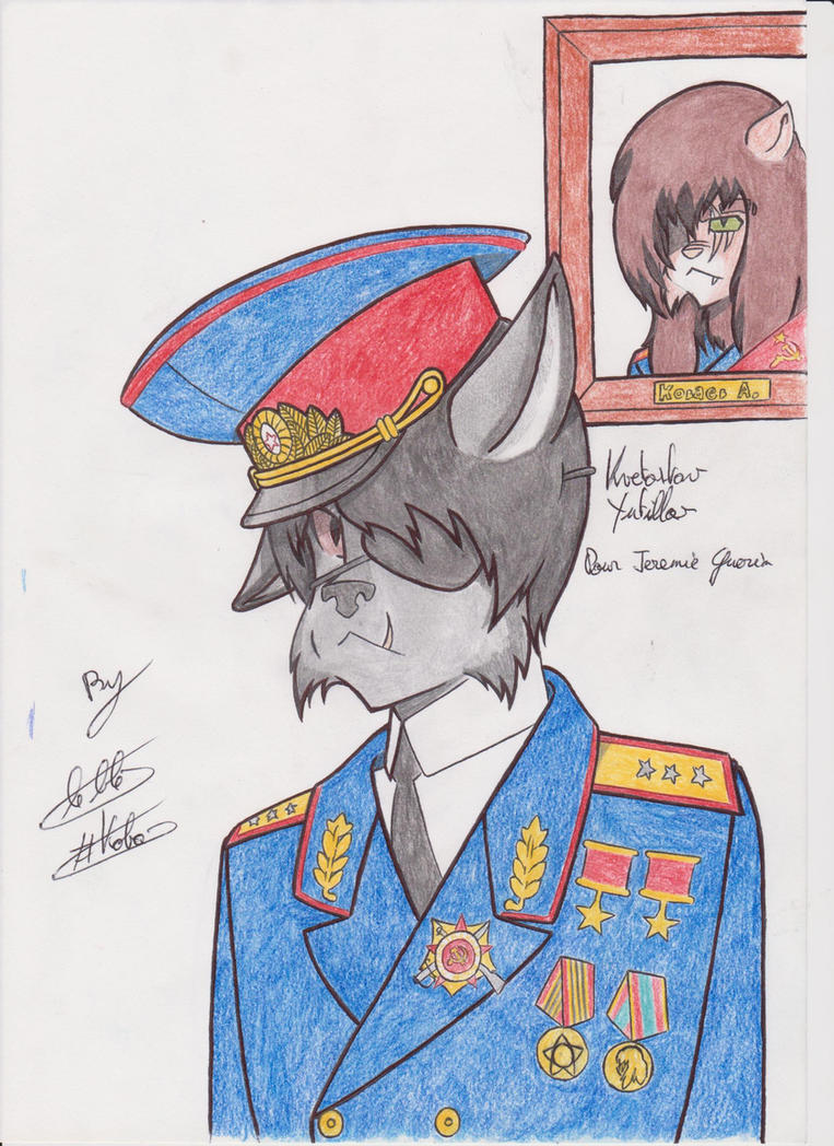 Kvetostav Yutillov ( commission ) by Kobayev