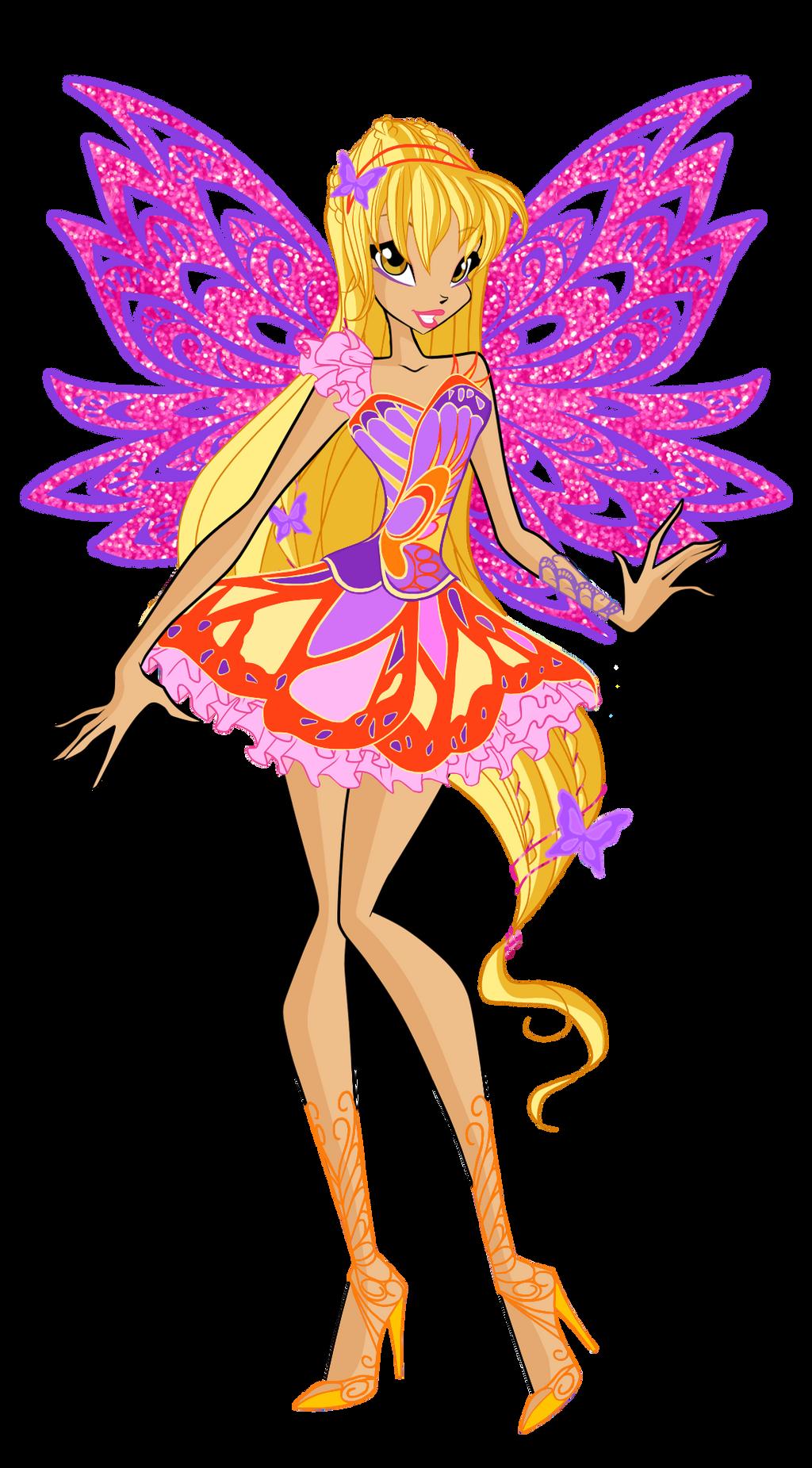 WINX: Stella Sirenix PNG by EnchantingUnixFairy on DeviantArt | 1851x1024