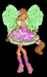 Official Flora Butterflix 2D by Winx-Rainbow-Love
