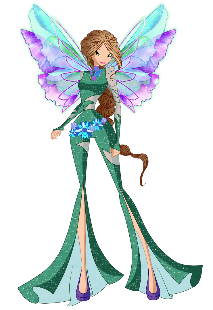 Flora Onirix 2D by Winx-Rainbow-Love
