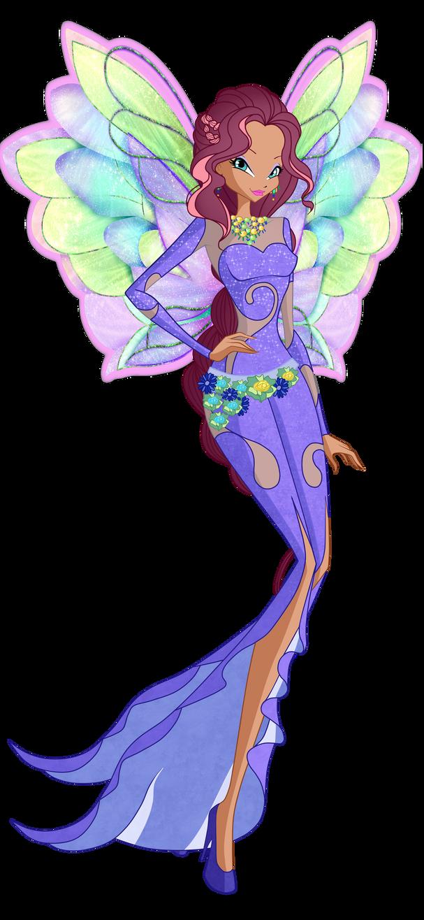 Aisha onyrix by winx rainbow love on deviantart - Robe de mariee bustier transparent ...