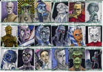 Clone Wars Sketch Cards 2 of 4