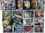 Clone Wars Sketch Cards 4 0f 4