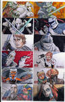 2009 Clone Wars Sketch Cards 4