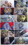 2009 Clone Wars Sketch Cards 5
