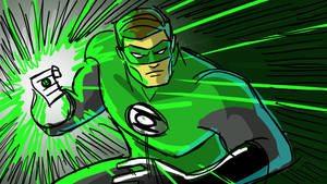 Green Lantern Sketch by Fierymonk