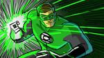 Green Lantern Sketch by Fierymonk