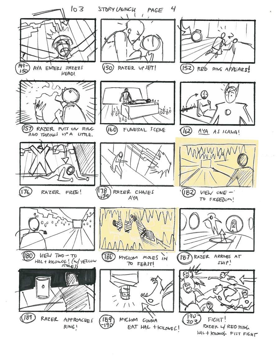 Green Lantern thumbnails 04 by Fierymonk