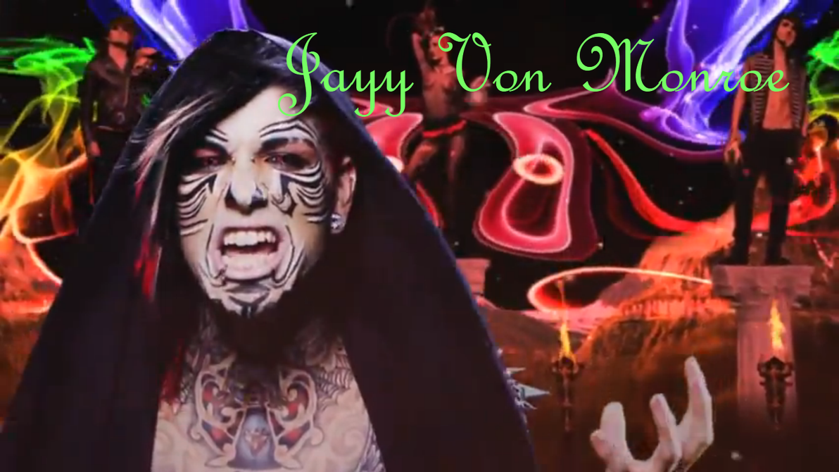 Jayy Von Monroe Backround by FawkYewImaCosplayer