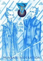 Babylon 5 - Minbari federation by Tarotmaster
