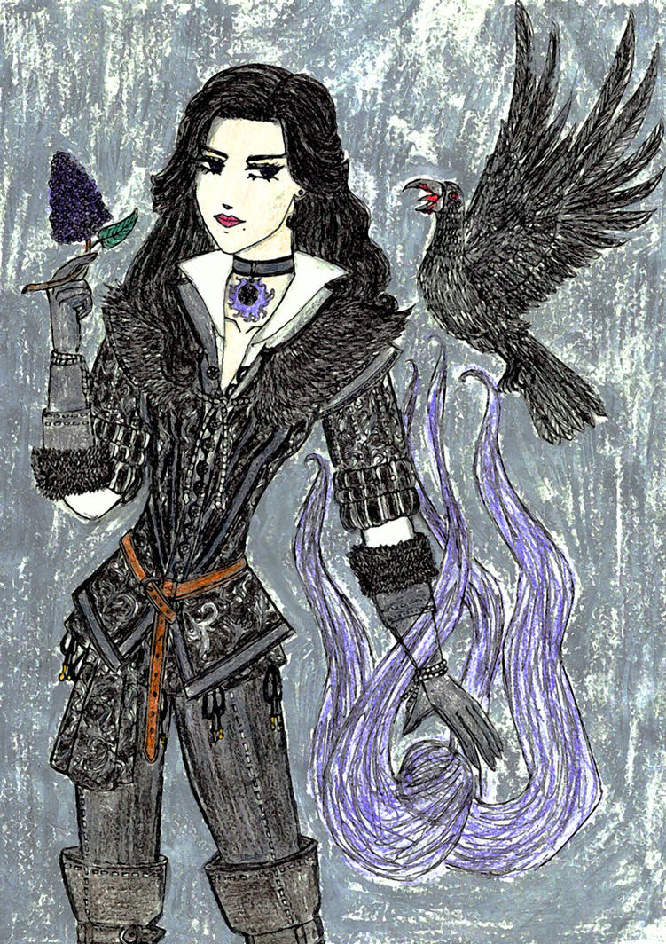 The Witcher - Yennefer by Tarotmaster