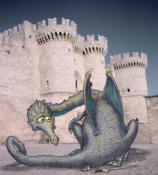Diogi the Dragon by KenBago
