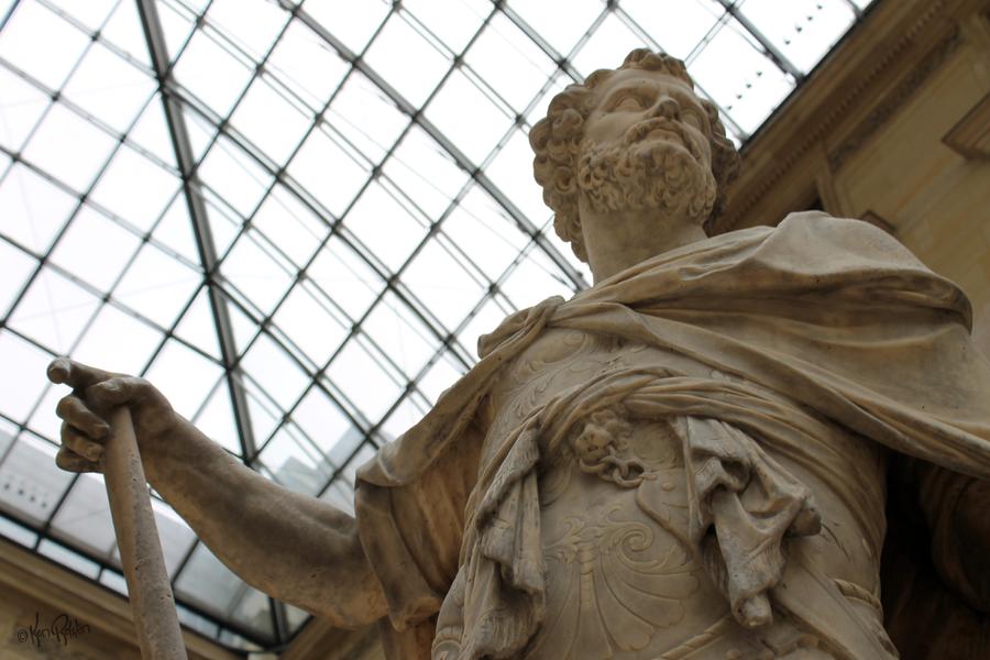 Roman Warrior - Louvre by KenBago