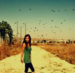 Dont go like birds. by ozgeaslan