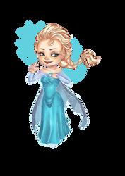 Chibi Elsa by Estelmistt