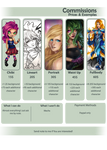 Commissions price!