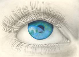 Beautiful eye by carr150