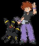 Pokemon anime - Gary (Sun and Moon style) 2