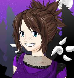 ID anime self by Lombaxfluffy