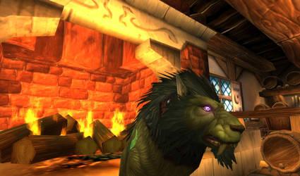 Worgen Druid Face by Lombaxfluffy